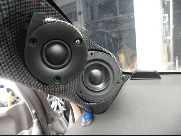 东莞卡罗拉汽车音响改装靓声进口德国烟推绅士宝喇叭 先锋p99 绝对