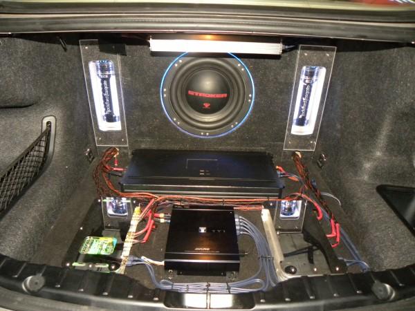 【32800元】宝马5系发烧音响改装阿尔派h800 c800主动