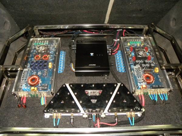 【46800元】吉利帝豪音响改装阿尔派h800主动三分频系统