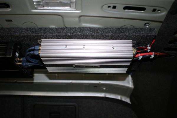 大众迈腾汽车音响改装瑞典DLS 4.1声道音响升级套餐 主机倒模先锋80