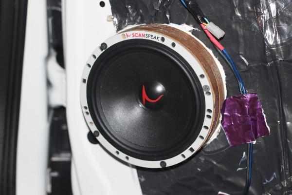 江淮瑞风m3汽车音响改装丹麦绅士宝rx6.2套装喇叭