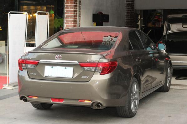 丰田锐志汽车音响改装摩雷玛仕舞 美国曼菲斯升级4.