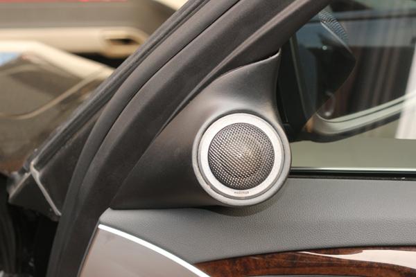 宝马528li汽车音响改装进口丹拿342 丹拿242升级三分频音响系统 美国